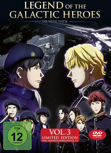 Legend of t.Galactic Heroes: NT #3 (DVD) Die Neue These Vol.#3, Min: 96/DD5.1/WS