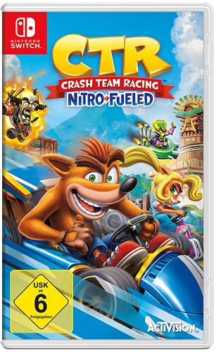 Crash Team Racing Nitro Fueled  SWITCH CTR