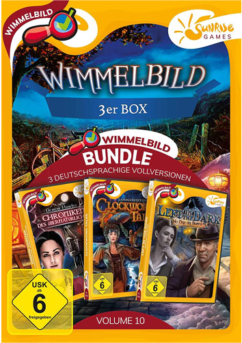 Wimmelbild 3-er Box Vol.10  PC SUNRISE