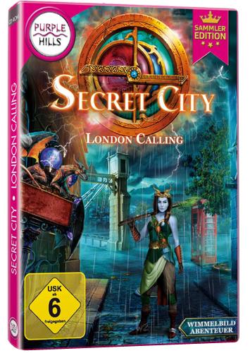 Secret City  PC  London Calling