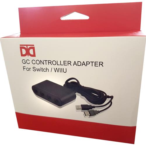 Switch  Controller Gamecube-Adapter Identisch mit original
