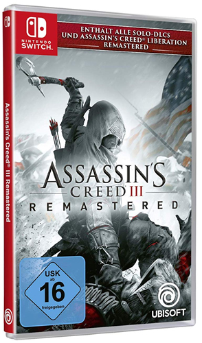 AC 3  Switch  Remastered Assassins Creed + AC Liberations