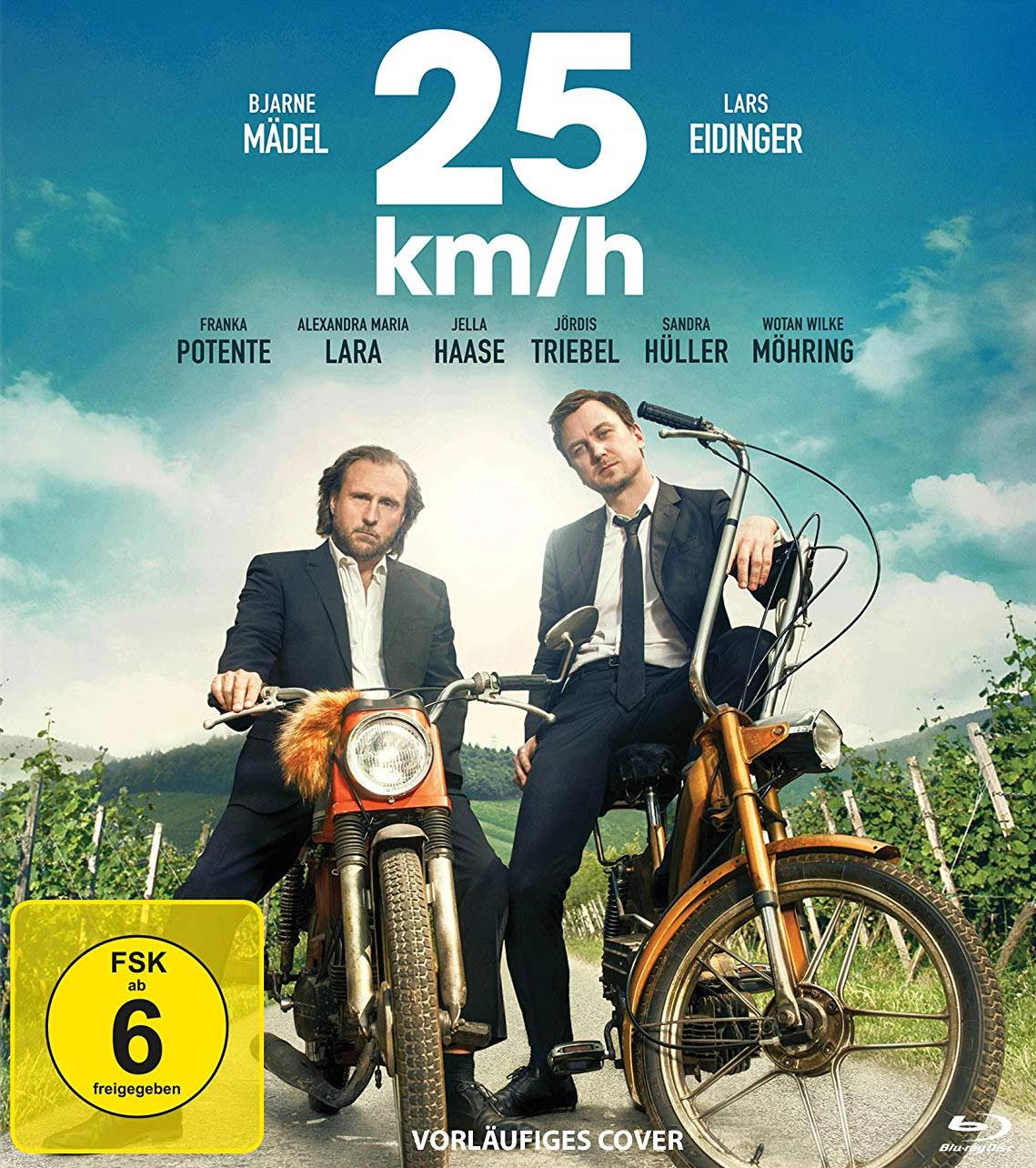 25 km/h  (BR) Min: 120/DD5.1/WS