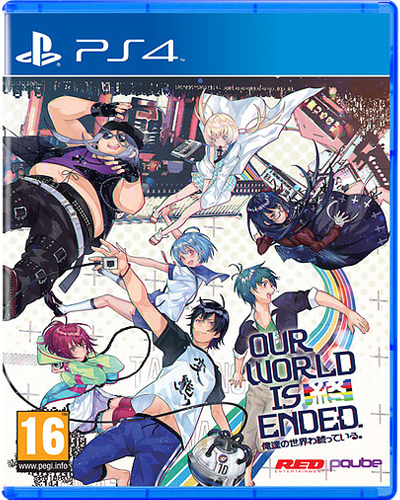 Our world is Ended  PS-4 Day One Edition