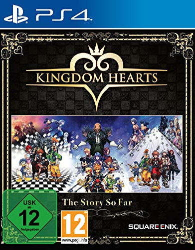 Kingdom Hearts  PS-4  Collection The Story so far  1.5+2.5+2.8