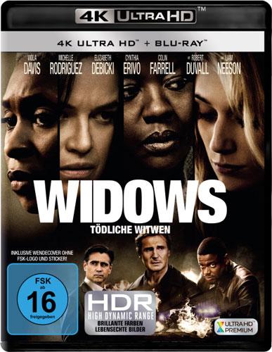 Widows - Tödliche Witwen (UHD+BR) Min: /DD5.1/WS
