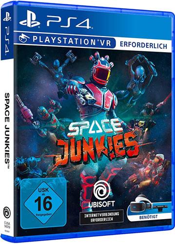 VR Space Junkies  PS-4 VR erforderlich