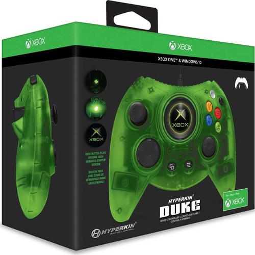 XB-One Controller DUKE Wired  grün XB-One und WIN10