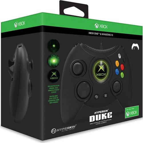 XB-One Controller DUKE Wired  schwarz XB-One und WIN10