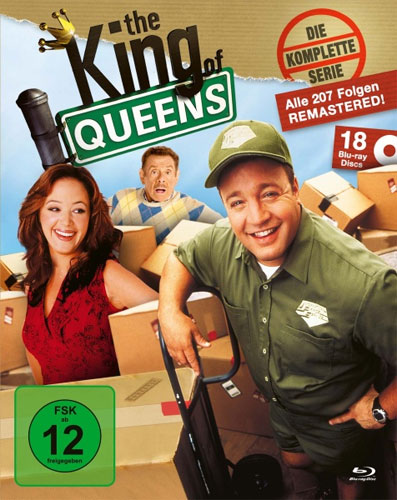 King of Queens - Kompl. Serie 1-9  KING-BOX BR