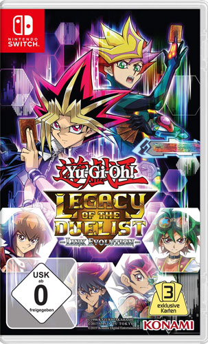 Yu Gi Oh!  Switch Legacy of the Duelist Link Evolution