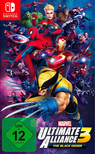 Marvel Ultimate Alliance 3  Switch The Black Order