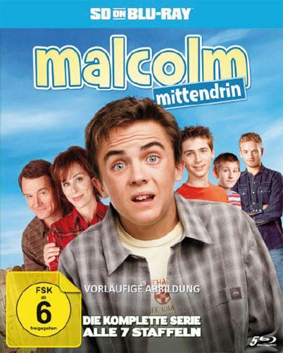 Malcolm mittendrin - Kompl.Serie BR