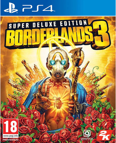 Borderlands 3  PS-4  Superdeluxe
