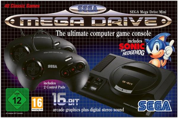 Sega Mega Drive Mini ohne Retourenrecht