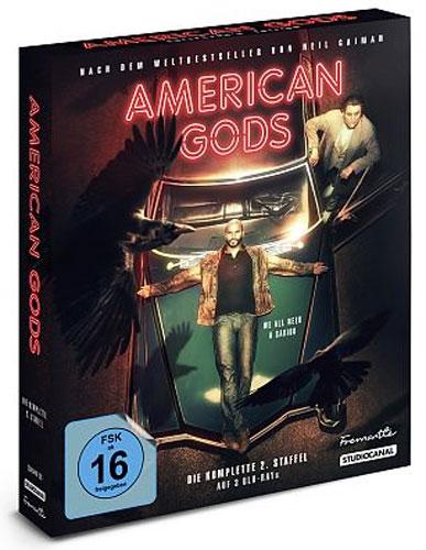 American Gods - Staffel #2 (BR) CE Min: /DD5.1/WS  Collectors Ed., Digipack