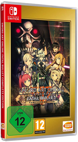 Sword Art Online  Fatal Bullet  SWITCH Complete Edition