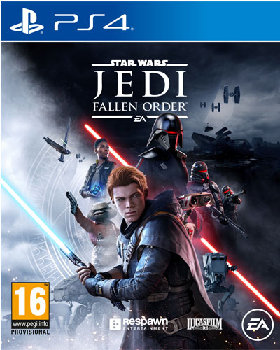 SW Jedi Fallen Order  PS-4  AT Star Wars