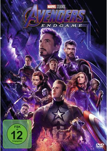 Avengers: Endgame (DVD) Min: 174/DD5.1/WS