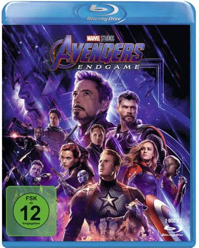 Avengers: Endgame (BR) SE 2Disc Min: 182/DD5.1/WS