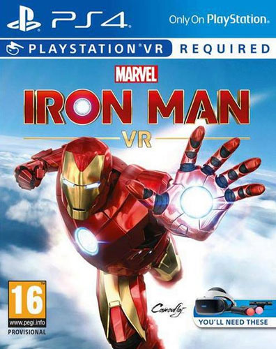 VR Iron Man  PS-4  AT VR wird benötigt