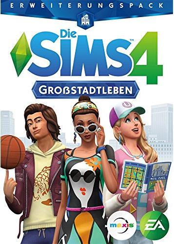 PCD Sims 4  PC  ADDON  Großstadtleben CiaB