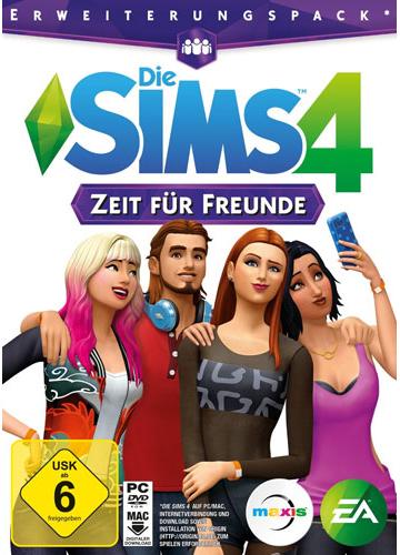 PCD Sims 4  PC  ADDON  Zeit für Freunde CiaB