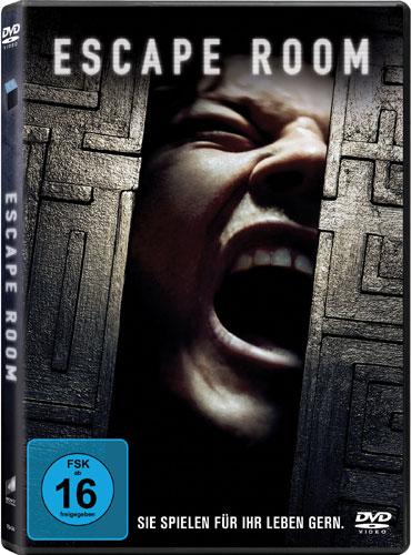 Escape Room  (DVD) - Sie spielen für ihr Leben gern, Min: 96/DD5.1/WS