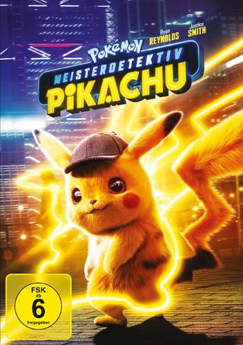 Pokemon - Meisterdetektiv Pikachu (DVD) Min: 104/DD5.1/WS