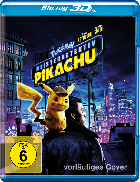 Pokemon - Meisterdetektiv Pikachu (BR)3D Min: 108/DD5.1/WS  1Disc