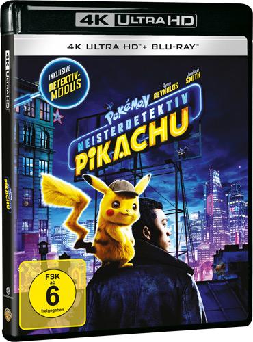 Pokemon - Meisterdetektiv Pikachu (UHD) Min: 108/DD5.1/WS  2Disc, 4K Ultra