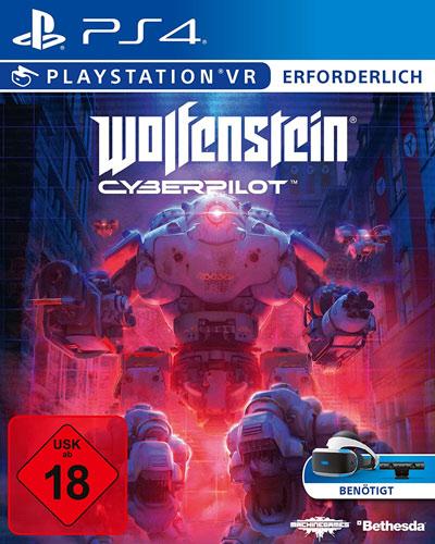 VR Wolfenstein Cyberpilot  PS-4