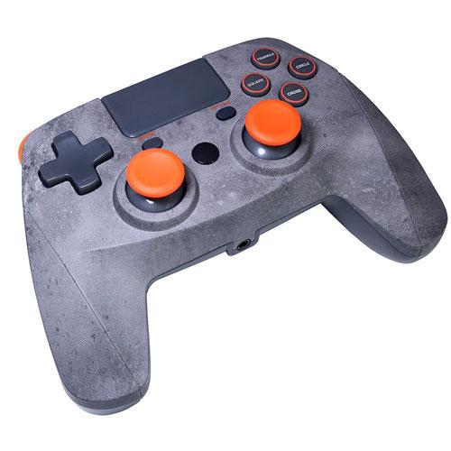 PS4 Controller  Game:Pad 4S wirel. rock Snakebyte  Bluetooth  grey-orange