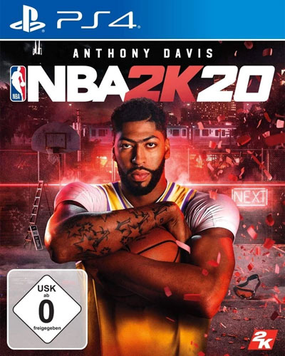 NBA  2k20  PS-4  Day1