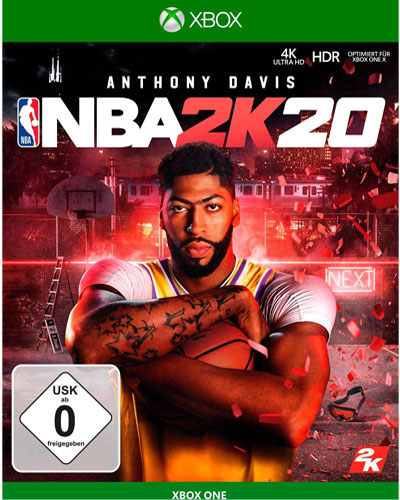 NBA  2k20  XB-One  Day1