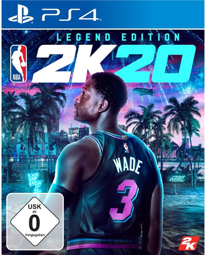 NBA  2k20  PS-4  Legend Edition
