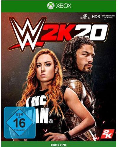 WWE  2k20  XB-One