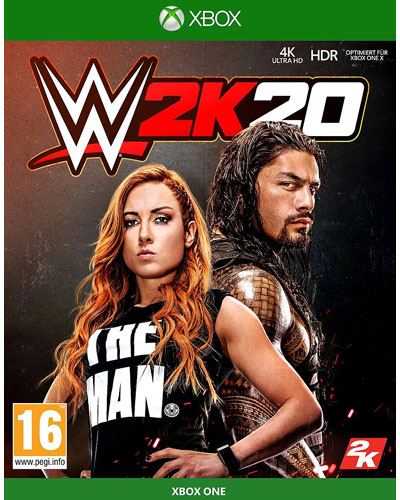 WWE  2k20  XB-One  AT