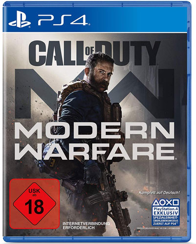 COD   Modern Warfare 2019  PS-4 Call of Duty