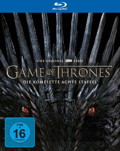 Game of Thrones - kompl. Staffel 8 (BR) FINALE, 3Disc, Erstauflage, *AUSVERKAUFT