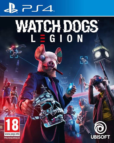 Watch Dogs Legion  PS-4  AT