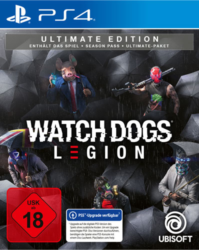 Watch Dogs Legion  PS-4  Ultimate