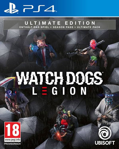 Watch Dogs Legion  PS-4  Ultimate  AT