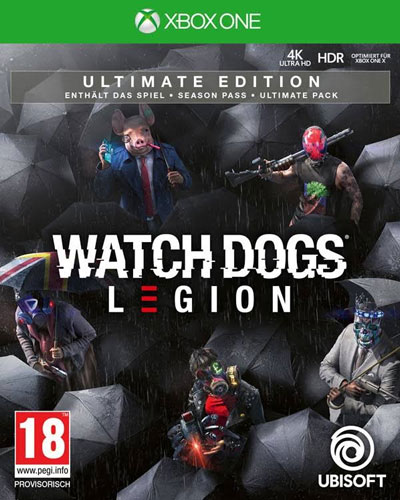 Watch Dogs Legion  XB-One  Ultimate  AT