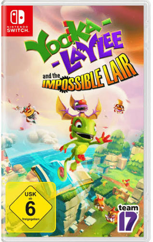 Yooka Laylee 2  Switch and the impossible Lair
