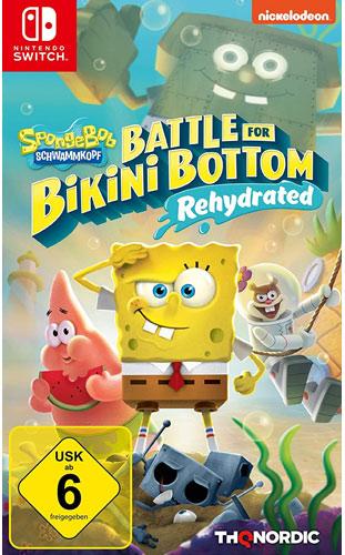 SpongeBob BFBB  Rehydrated  Switch Battle for Bikini Bottom