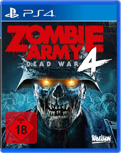 Zombie Army 4  PS-4 Dead War  uncut