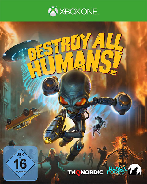 Destroy all Humans!  XB-ONE