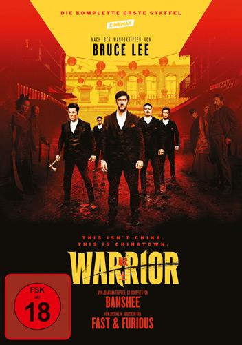 Warrior: Die komplette Staffel #1 (DVD) 3Disc