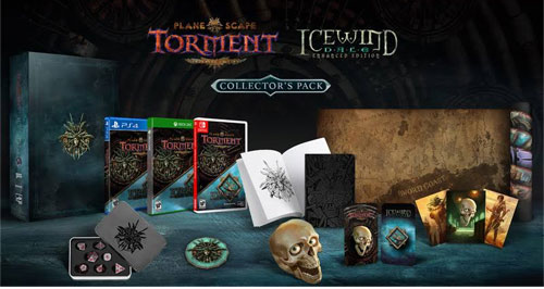 Planescape  PS-4  Torment & Icewind C.E. Collector's Edition